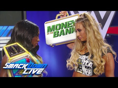 Carmella promises to keep a close eye on Naomi at WWE Battleground: SmackDown LIVE, July 18, 2017