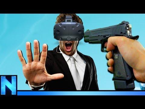 STOPPING MURDER IN SLOW MOTION! (VR)