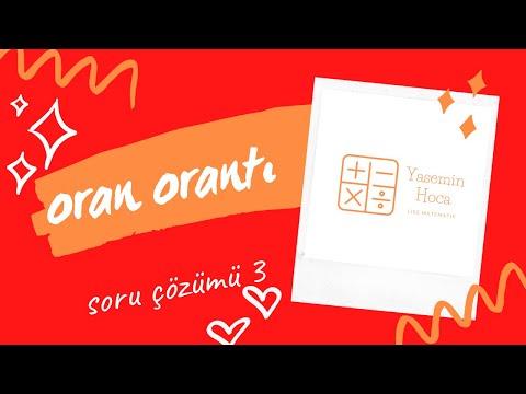9 Sinif Oran Oranti Calisma Sayfa 3 Youtube