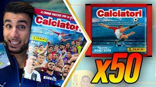 LA SQUADRA DA 50 BUSTINE!! ECCO RONALDO! | APERTURA BUSTINE CALCIATORI PANINI 2019 su FIFA 19 EP.7