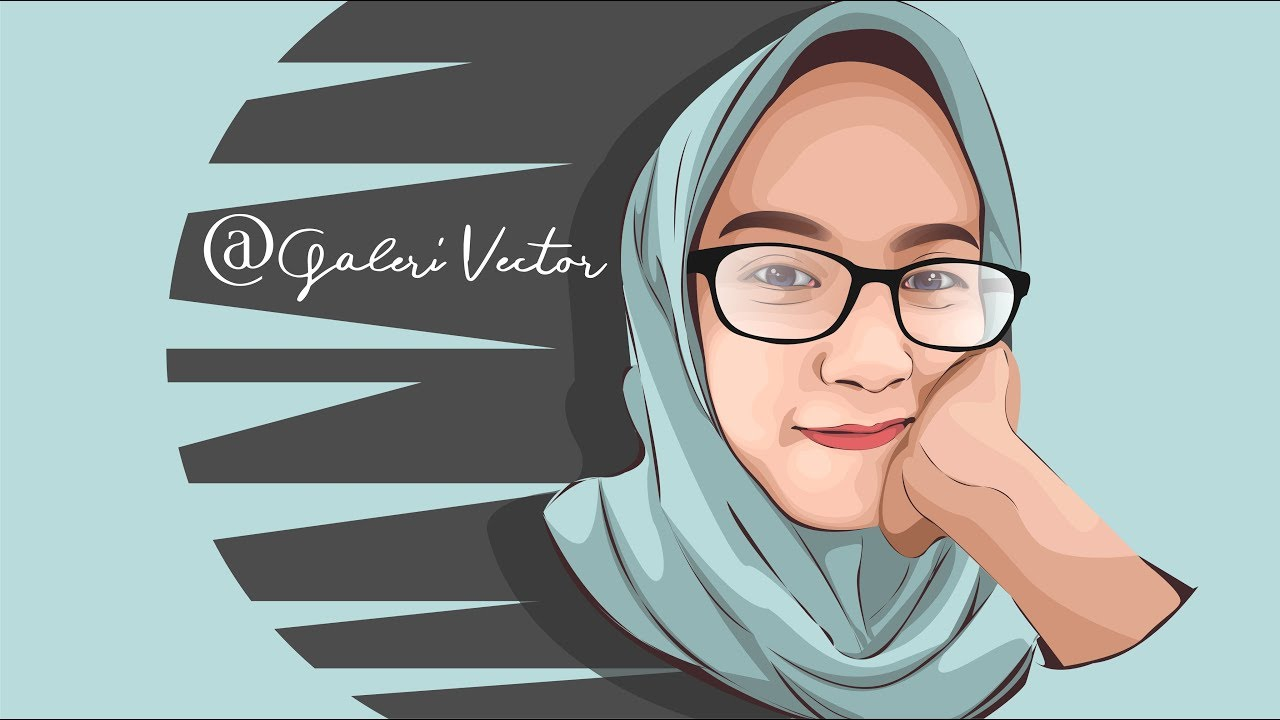 Tutorial Corel Draw : How To Draw Vector Art With Corel Draw (Cara membuat  Vector Art Corel Draw)