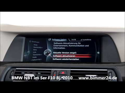 BMW Navigation Professional NBT mit Touch Controller im ...