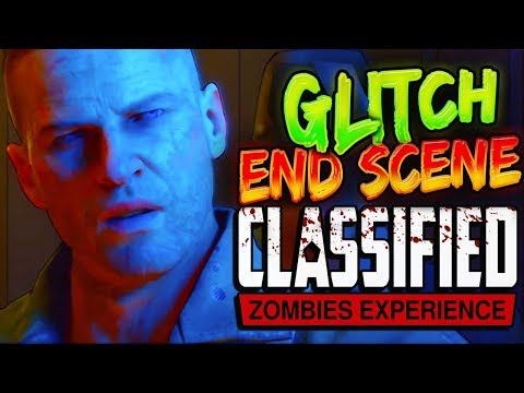 How To Do Classified CutScene GLITCH & (NON Cartoon Mode FULL CUTSCENE) - BO4 ZOMBIES)