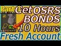 Bond in One Day on a F2P Guide from Fresh Account! Part 1