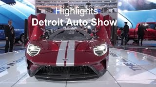 Messe-Highlights - Detroit Auto Show 2017 | auto motor und sport