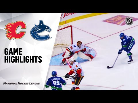 09/16/19 Condensed Game: Flames @ Canucks