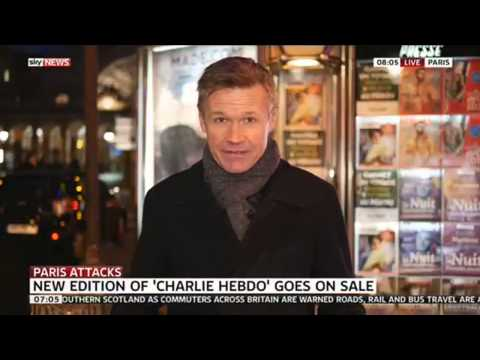 Charlie Hebdo Sells Out At Paris Newsstands