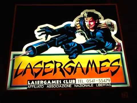 "LASER GAMES RIMINI ""ITALY"" Regia di Lorenzo Giannini - YouTube"