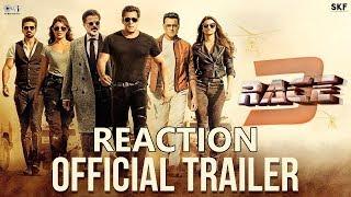 [New] Race 3 Official Trailer REACTION l RACE 3 TRAILER l RACE 3  SALMAN KHAN
