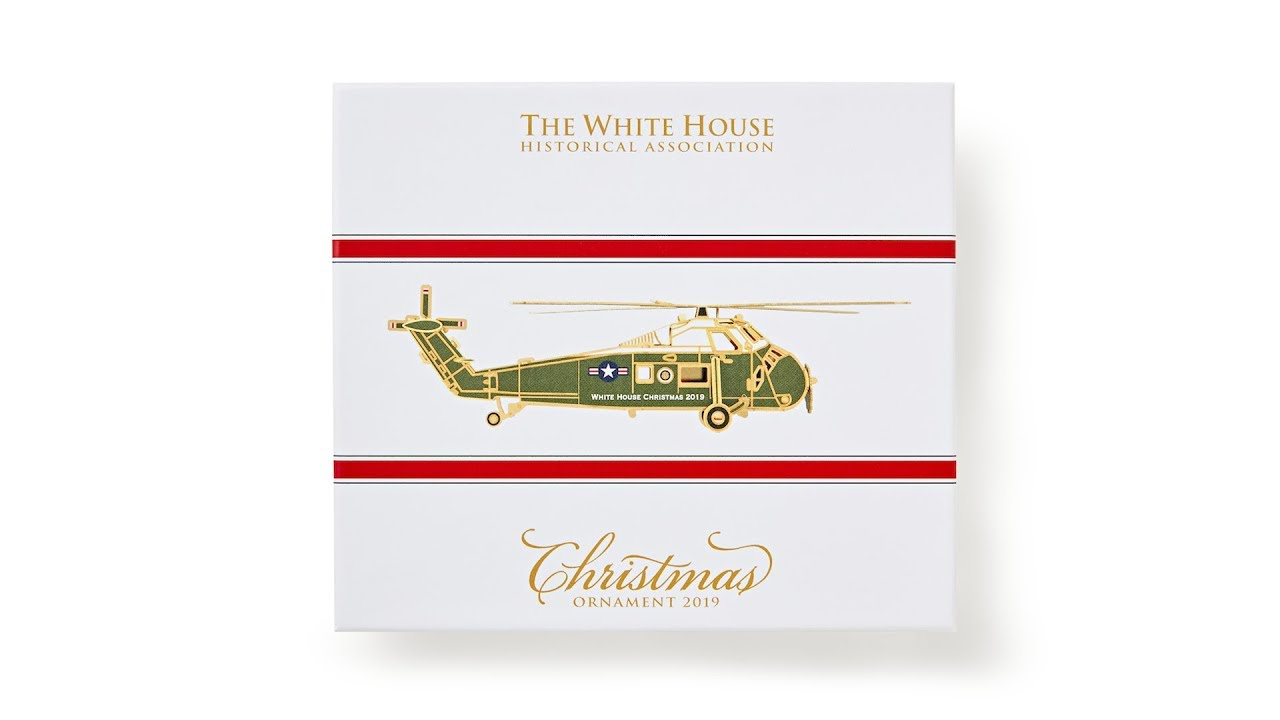 2019 White House Christmas.The Official 2019 White House Christmas Ornament Video