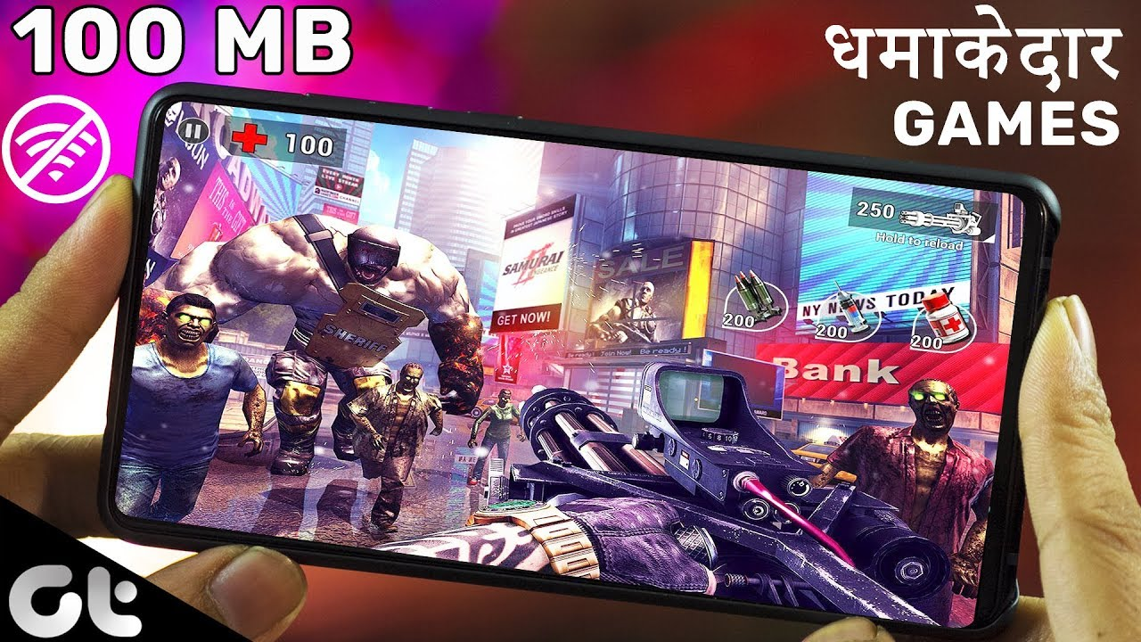 Top 7 Best Offline Android Games Under 100 Mb Hd Graphics August 2019 Gt Gaming Youtube