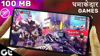 Top 7 Best Offline Android Games Under 100 MB | HD Graphics August 2019 | GT Gaming