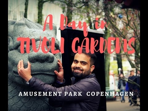 A Day in Tivoli Gardens | Copenhagen | Amusement Park | Let me Roam