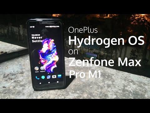 OnePlus Hydrogen OS on Zenfone Max Pro M1 | #ROMSforZenfoneMaxProM1 | Tech Fibre