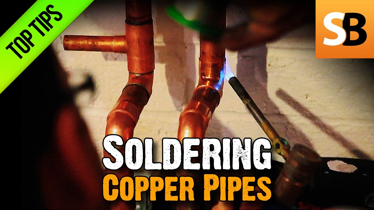 How To Solder Copper Pipes Avoid Leaking Water