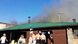 """Детский праздник в """"Ассамблее"""" закончился пожаром"""