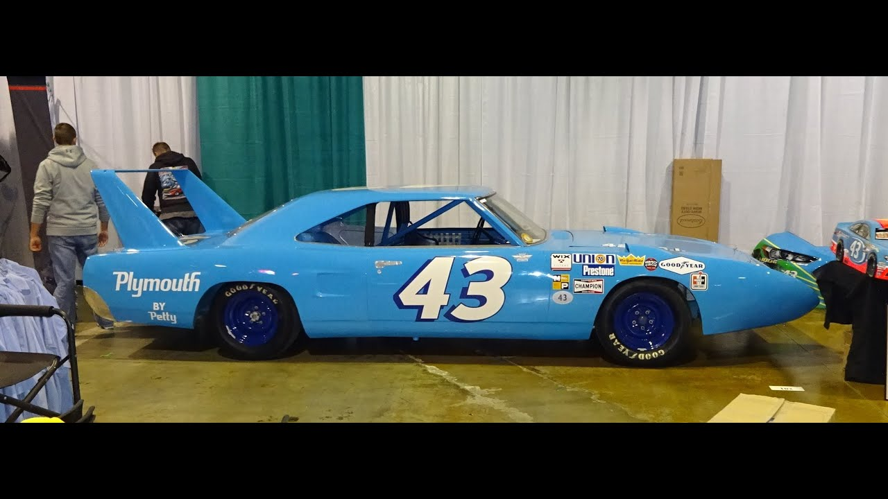 Plymouth Superbird Actual Car Richard Petty Raced In Nascar