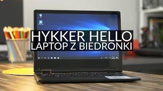 Recenzja laptopa z Biedronki - czy Hykker Hello potrafi zaskoczyć?