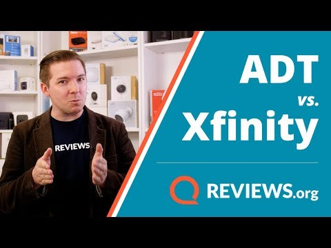 ADT vs. Xfinity Home | Home Security Comparison Review