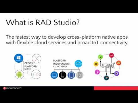 Official Launch Webinar for RAD Studio 10.2 Tokyo