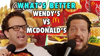 Wendy's vs McDonald's - Taste Buds - EP 8