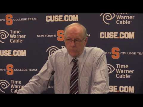 Syracuse basketball coach Boeheim