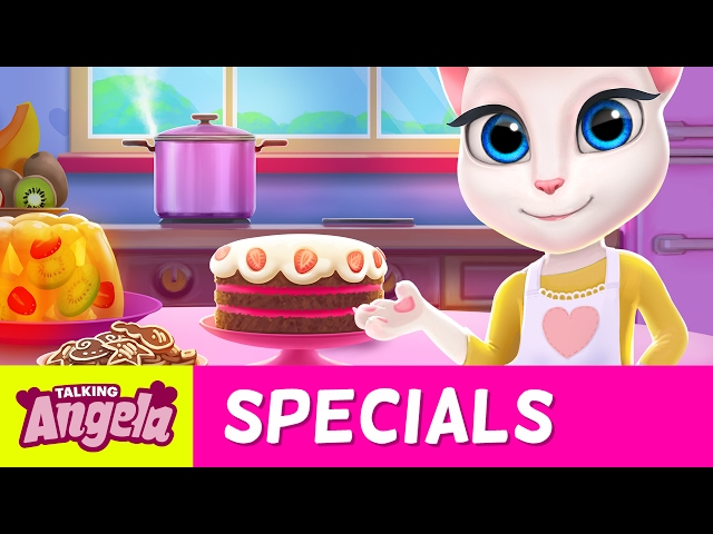 My Talking Angela - Time for Cake! (NEW App Update)