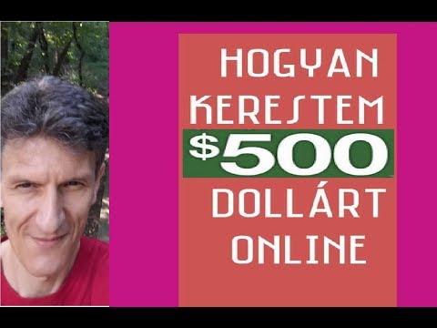 hogyan kerestem pénzt online