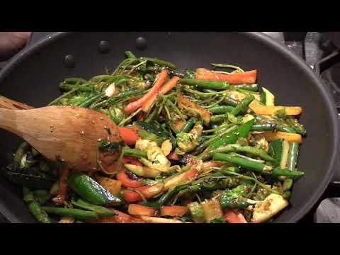 Healthy Vegetables Stir Fry in 15 mins……vegan