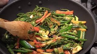 Healthy Vegetables Stir Fry in 15 mins......vegan