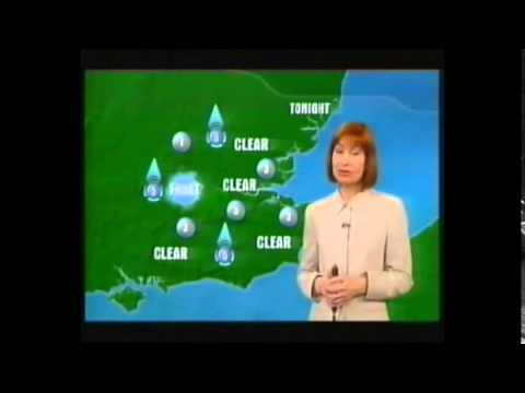 LWT London Tonight Closing Titles and Weather 2001