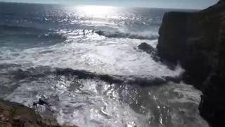 Потрясающий Атлантический океан. Побережье Португалии 2016