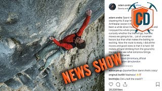 Adam Ondra Bolts And Redpoints Bosnia