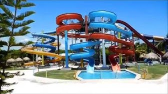 Grand Sirenis Punta Cana Resort Casino and Aquagames - Walkthrough and Montage