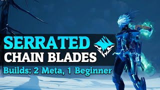 Serrated Blades Chain Blade builds - DPS Chain Blade Gameplay - Dauntless Patch 0.8.1