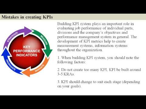 Vendor management KPIs