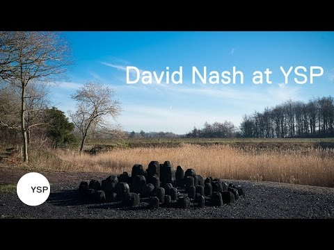 David Nash at Yorkshire Sculpture Park