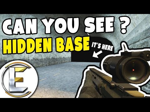 Can You See Hidden Base? - GMOD DarkRP (Using The Hidden Tunnel With Secret Room)
