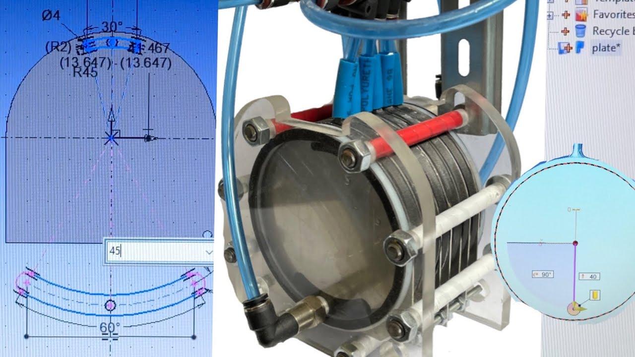 Sketch FREE HHO Generator. Pur Oxygen Pur Hydrogen. H2 O2. Water Electrolysis