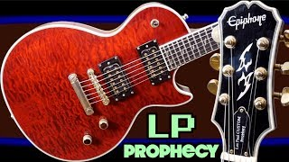 Decoding the Prophecy | 2008 Epiphone Les Paul Custom GX Dirty Fingers Red | Review + Demo