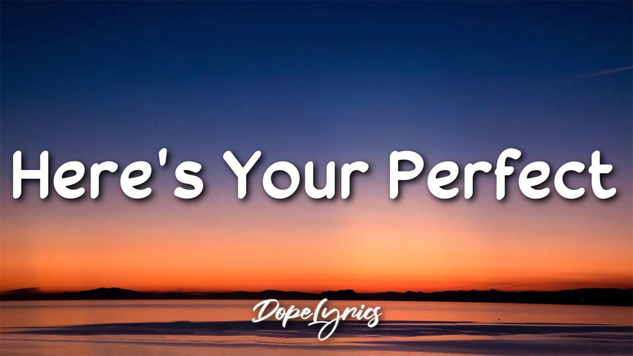 Download Here's Your Perfect - Jamie Miller (Lyrics) 🎵