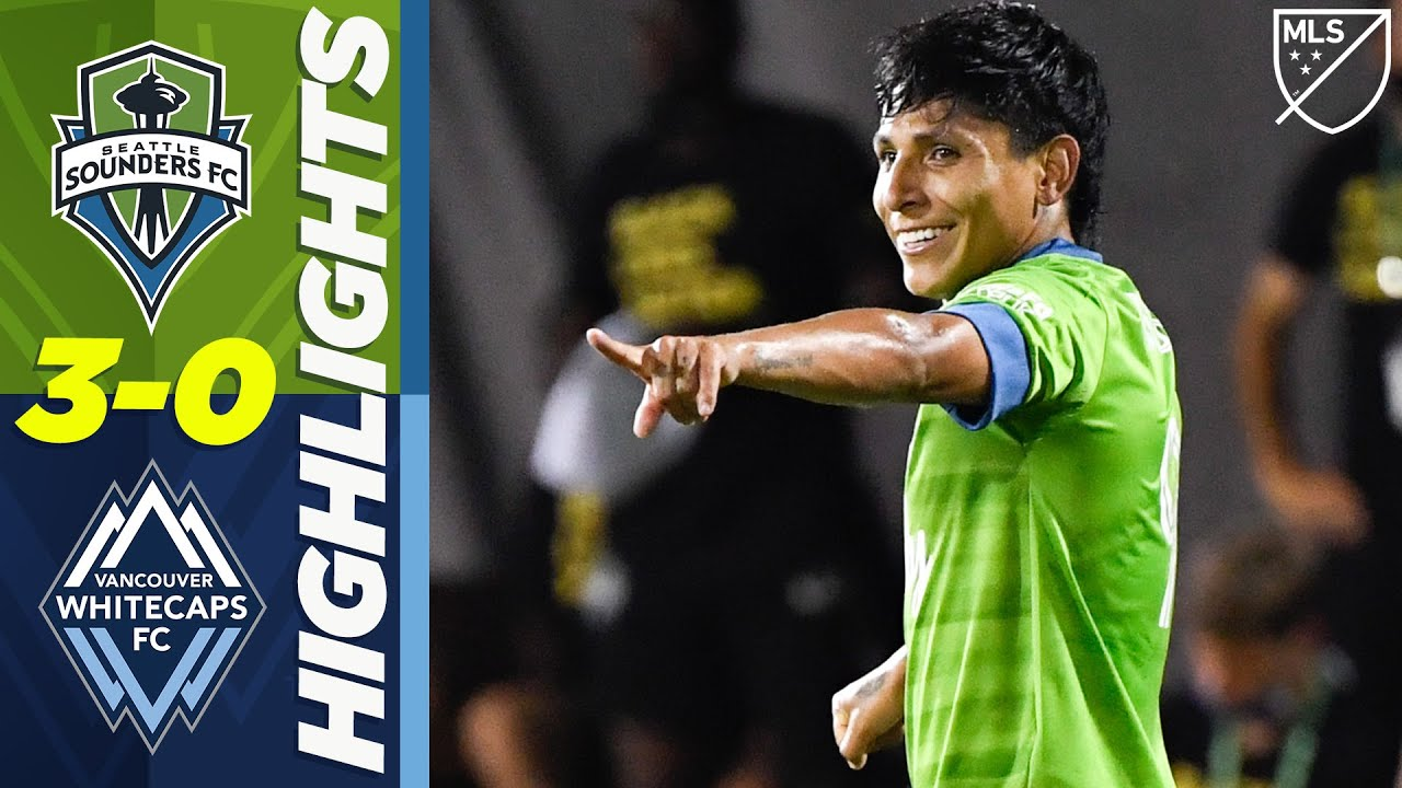 Seattle Sounders 3-0 Vancouver Whitecaps | Ruidiaz and Morris Save Seattle | MLS Highlights