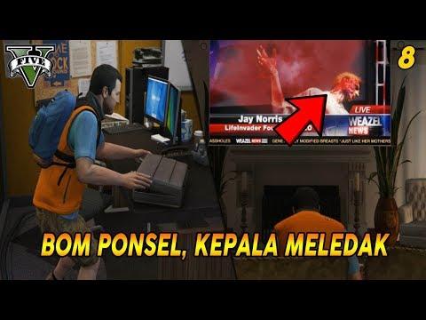 NASIB TRAGIS JAY NORRIS   PANDUAN MISI GTA 5 (8) FRIEND REQUEST   100% COMPLETION / GOLD MEDAL