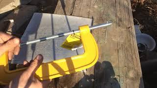 Обзор  электро ножниц для резки листового металла sturm es9065