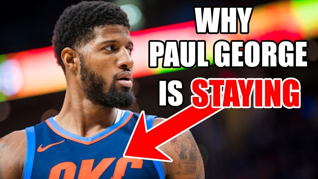 c576a9e0d88729 Paul George RE-SIGNED With The Thunder! This is WHY - YouTube