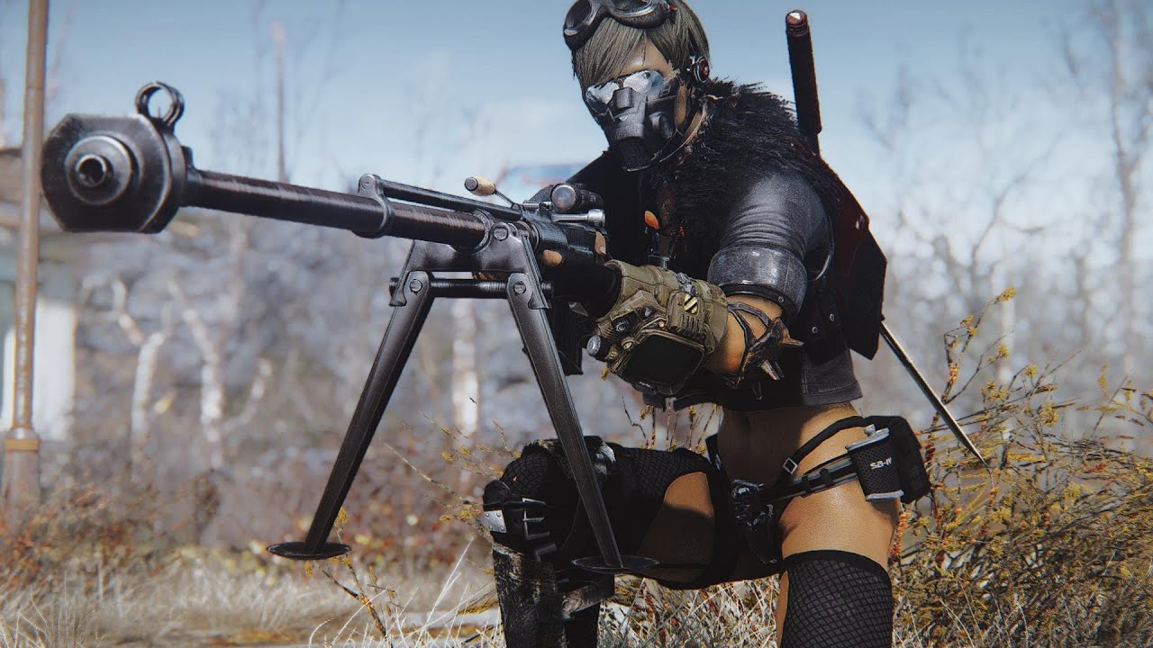 Top 5 Sniper Rifle Mods - Fallout 4 (PC/Xbox One)
