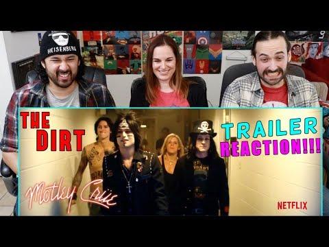 THE DIRT | Official TRAILER | Netflix (Mötley Crüe Biopic) - REACTION!!!