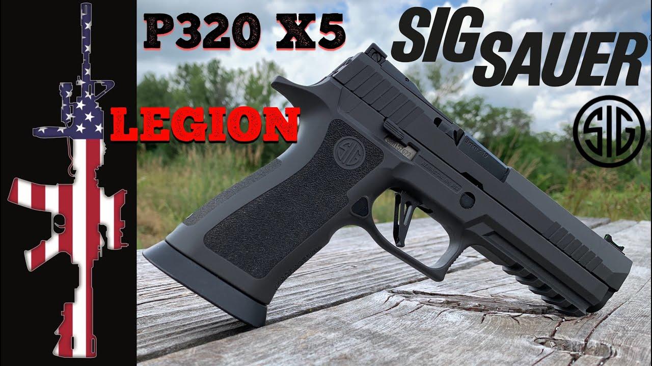 Sig P320 X5 Legion - REVIEW