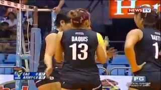 Cagayan Valley vs Philippine Army - October 8 ,2014 [ Set 1 ]Shakey's V-League Season 11