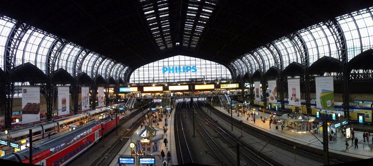 Hamburg Hauptbahnhof, Central Station Hamburg, Germany on